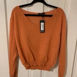 NASTY GAL NWOT Cropped Sweater